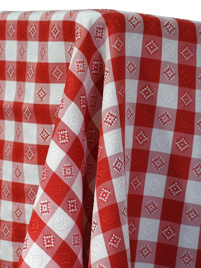 Where to find GINGHAM RED LINEN in Edmonds
