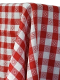 Rental store for GINGHAM RED LINEN in Edmonds WA