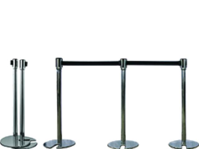 Where to find STANCHION, BLACK RETRACTING STACKABLE in Edmonds
