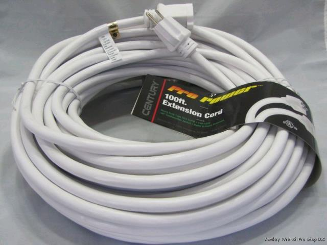 Where to find EXTENSION CORD, 100  WHITE in Edmonds