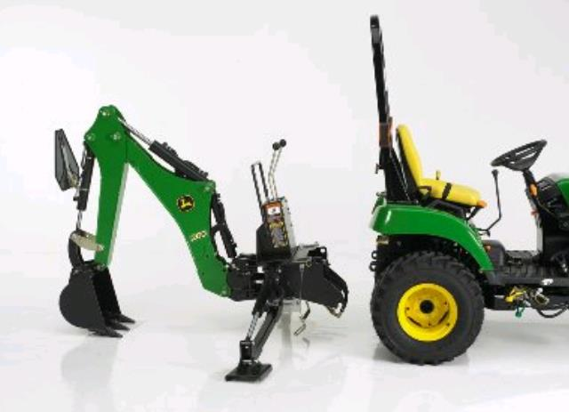 Where to find BACKHOE, F JD TRACTOR in Edmonds