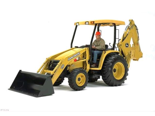 Where to find BACKHOE, JD 110 in Edmonds