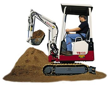 Where to find TRACKHOE, TAKEUCHI 108 in Edmonds