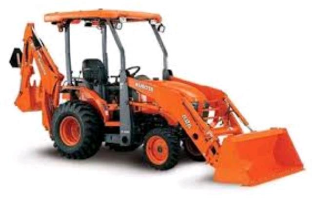 Where to find TRACTOR BACKHOE, KUBOTA B26 in Edmonds