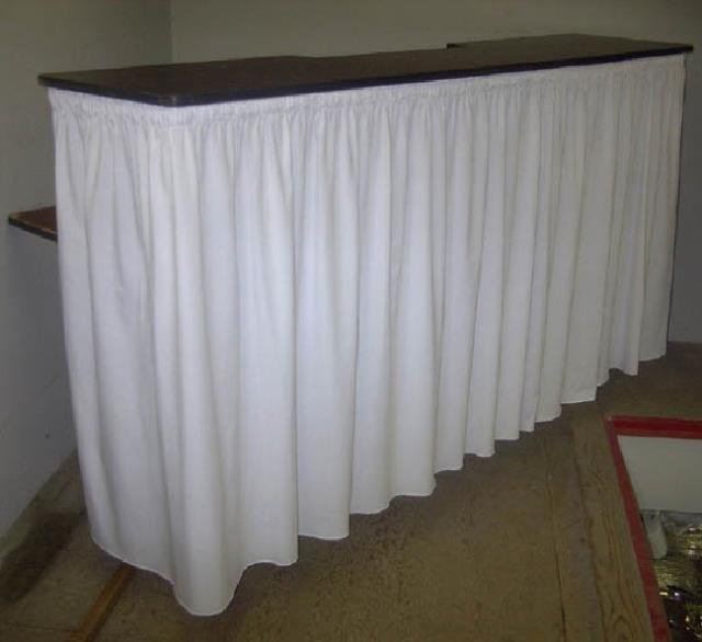 Where to find BARTOP W 6  TABLE SKIRT in Edmonds