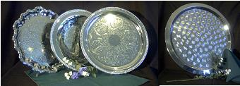 Where to find TRAY, 16  ROUND, SILVER in Edmonds