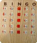 Where to rent BINGO CARDS, SET OF 100 in Edmonds WA