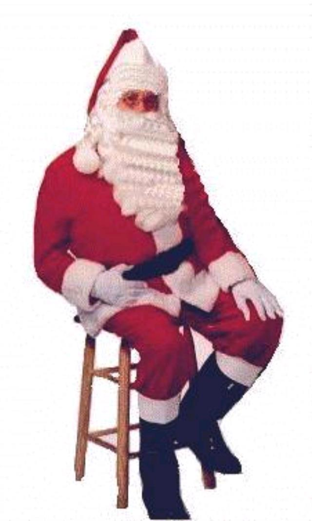 Where to find SANTA SUIT, MED. in Edmonds