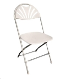 Where to rent CHAIR, FANBACK, WHITE in Edmonds WA