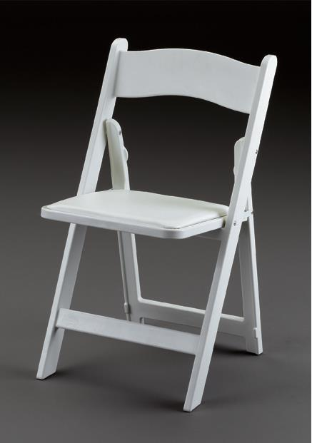 Where to find CHAIR, FOLDING, WHITE PADDED in Edmonds