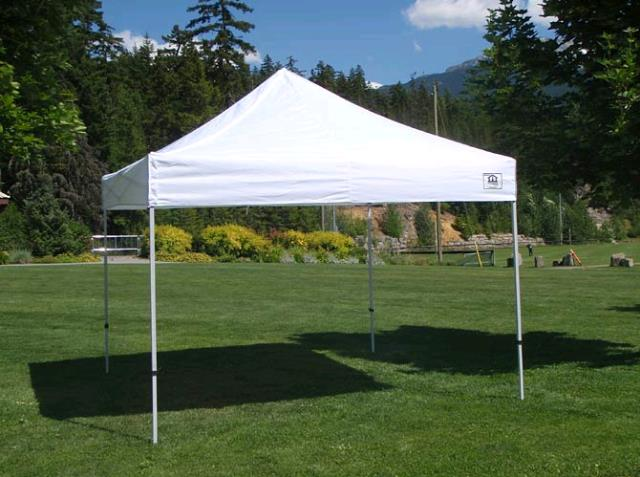 Where to find CANOPY, 10x10, E-Z UP WHITE in Edmonds