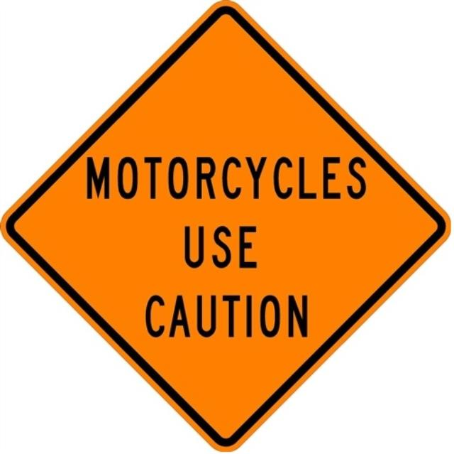 Where to find SIGN, MOTORCYCLES USE CAUTION in Edmonds