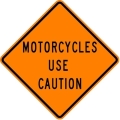 Rental store for SIGN, MOTORCYCLES USE CAUTION in Edmonds WA