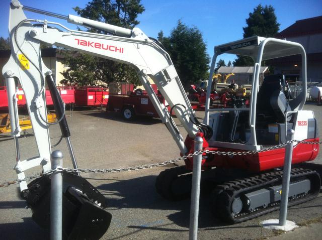 Where to find TRACKHOE, TB 235R in Edmonds