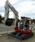 Where to rent TRACKHOE, TAKEUCHI TB 153FR in Edmonds WA