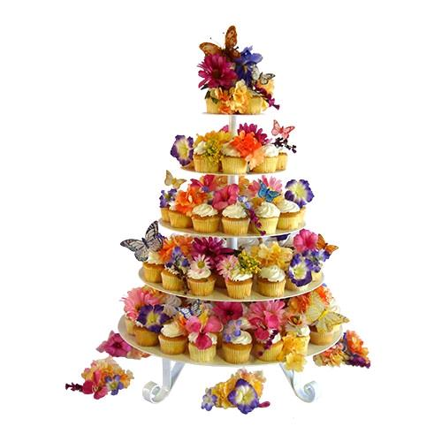Where to find CUPCAKE TRAY, WHITE 5 TIER ROUND in Edmonds