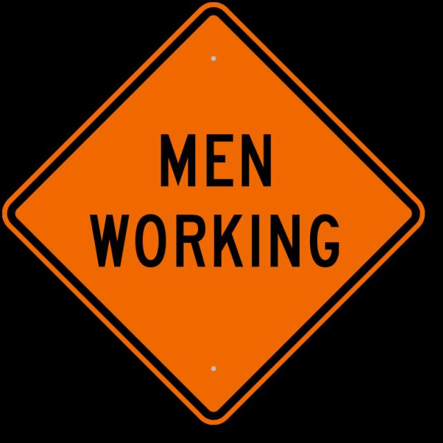 Where to find SIGN, MEN WORKING in Edmonds