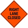 Where to rent SIGN, RIGHT LANE CLOSED in Edmonds WA