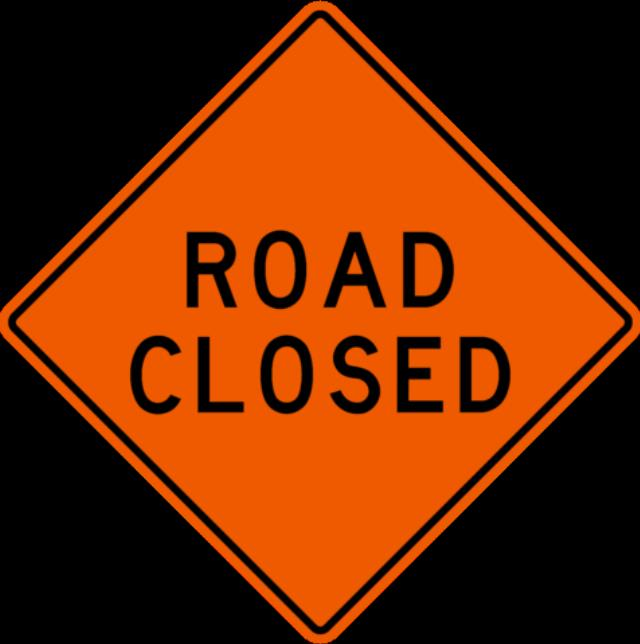 Where to find SIGN, ROAD CLOSED in Edmonds