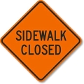Where to rent SIGN, SIDEWALK CLOSED in Edmonds WA