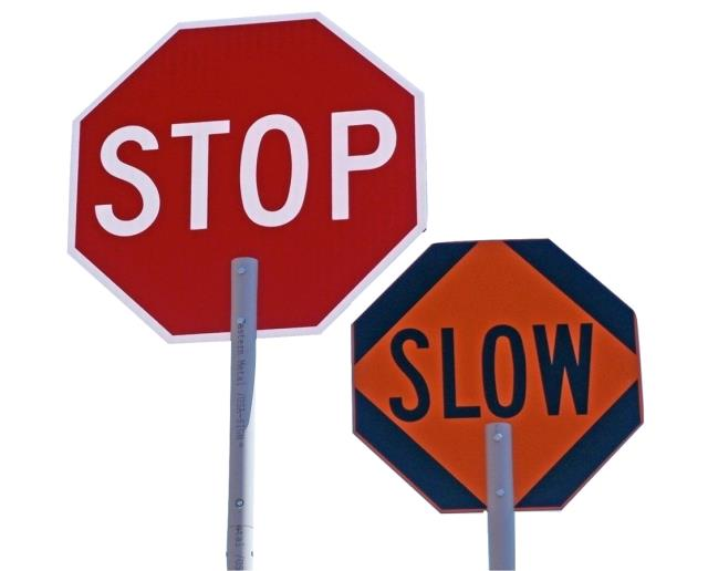 Where to find SIGN, STOP SLOW in Edmonds
