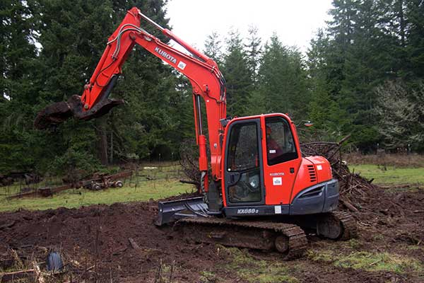 Heavy equipment rentals in Edmonds WA